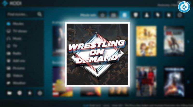 addon wrestling en kodi