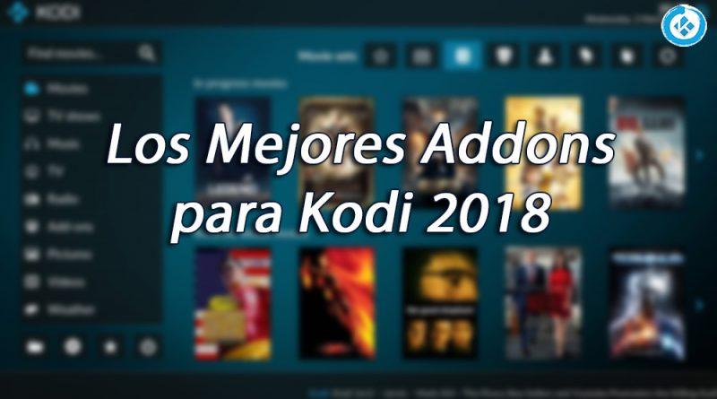 mejores addons para kodi 2018