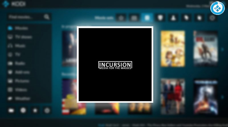 addon incursion en kodi