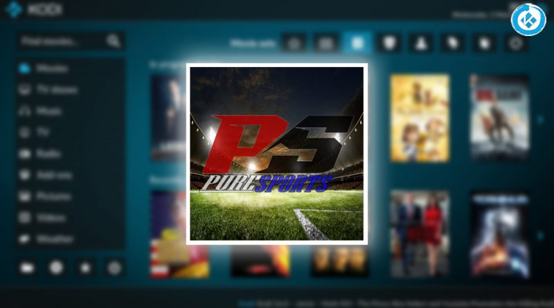 addon pure sports en Kodi