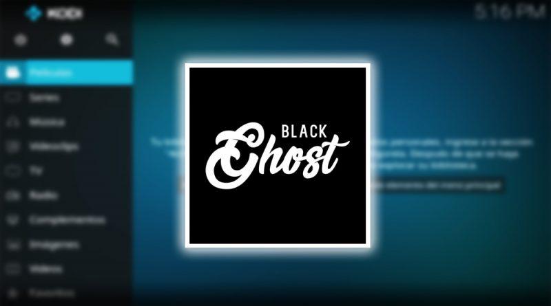 addon black ghost en kodi