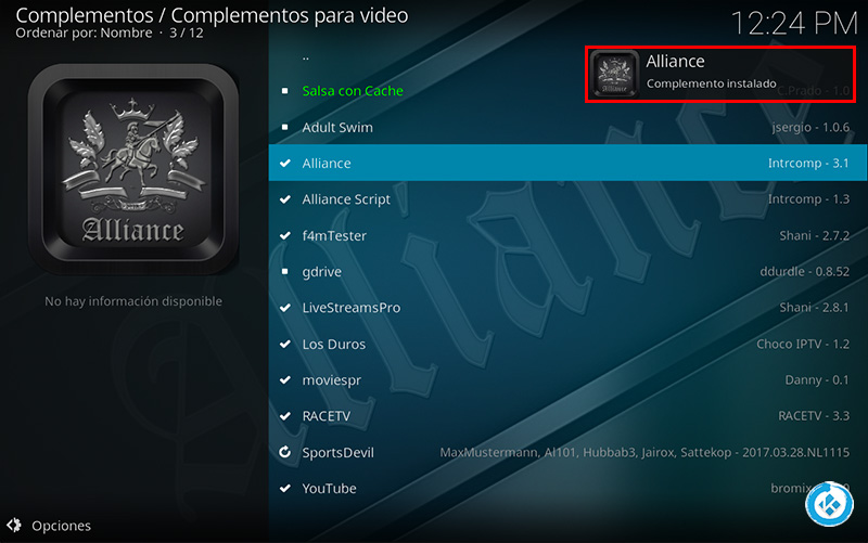 addon alliance en kodi