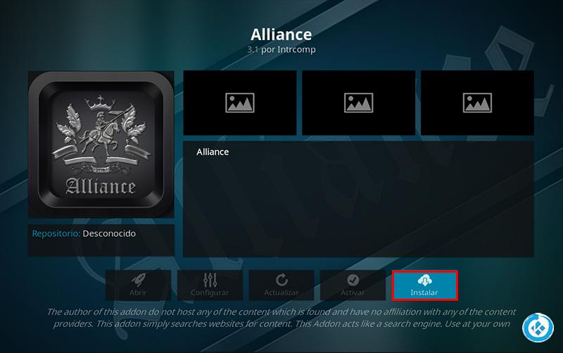 addon alliance en kodi