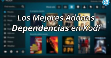 Addons Dependencias en Kodi