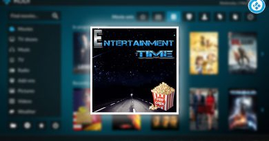 addon Entertainment Time en Kodi