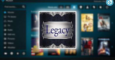 addon legacy en kodi