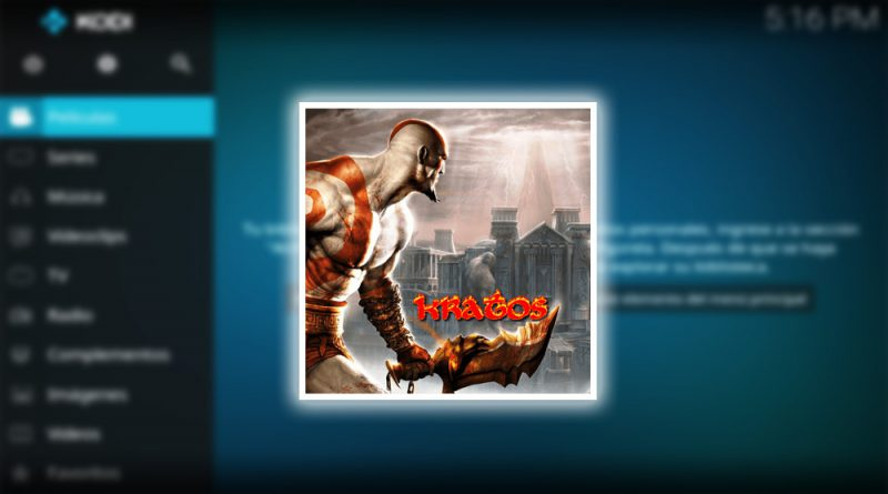 addon the kratos en kodi