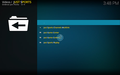 addon just sports en kodi