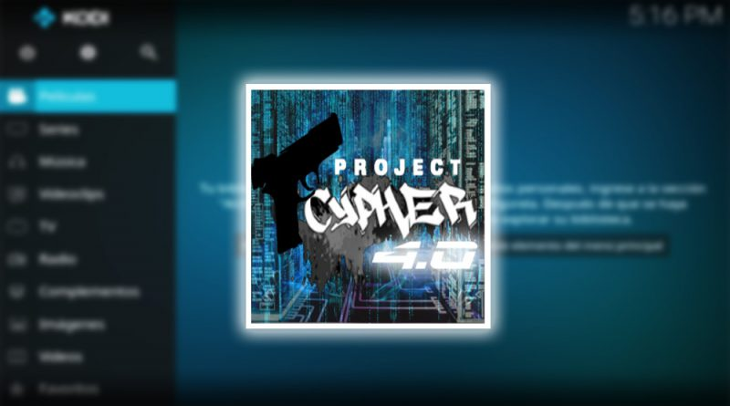addon project cypher en kodi