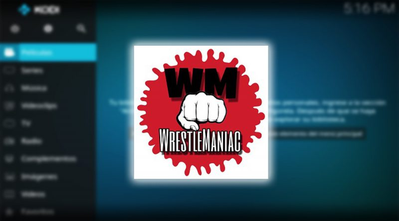 addon wrestlemaniac en kodi