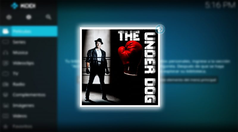 addon the underdog en kodi