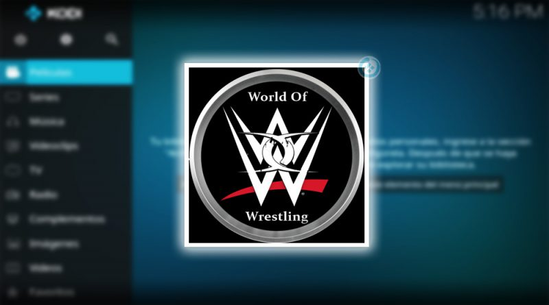 addon world of wrestling en kodi