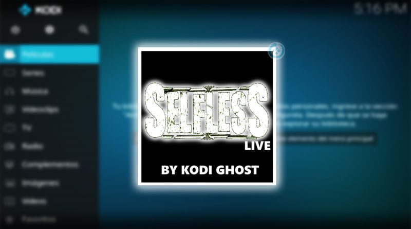 self less live en kodi