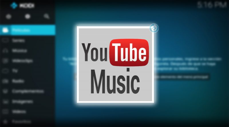 addon youtube music en kodi