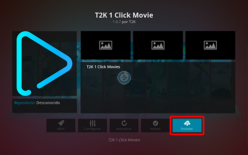 t2k 1 click movie en kodi