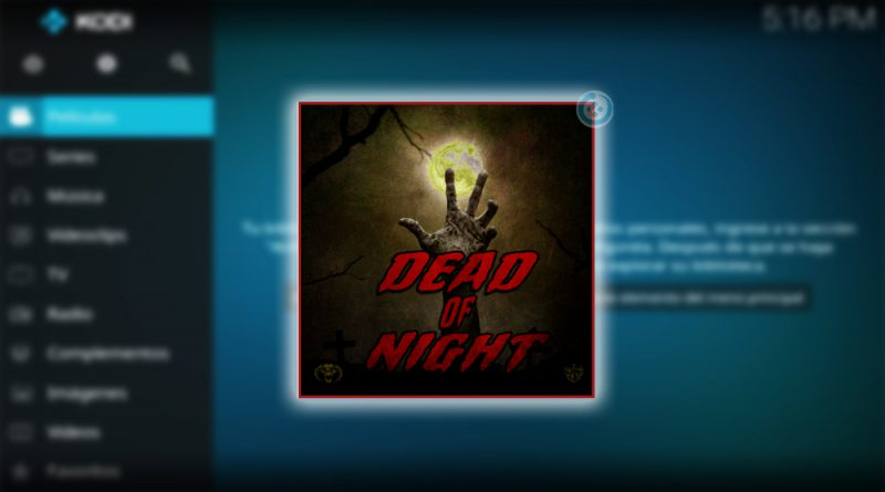 dead of night en kodi
