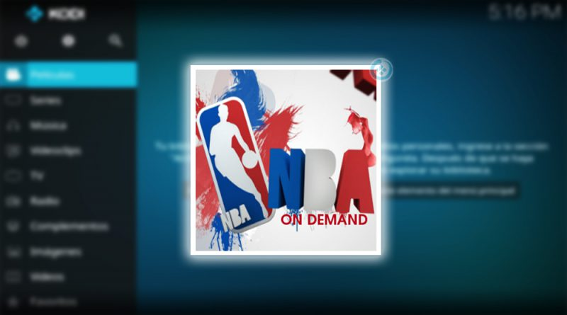 addon nba on demand en kodi