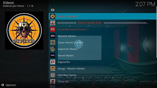 addon strikes movie zone en kodi