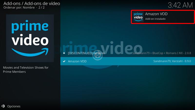 addon prime video en kodi