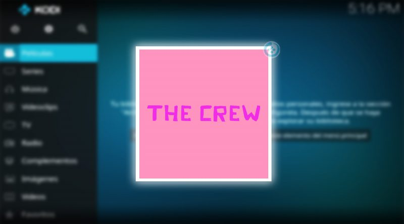 addon the crew en kodi