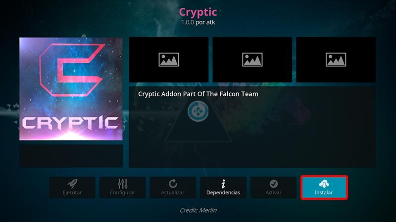 addon cryptic en kodi