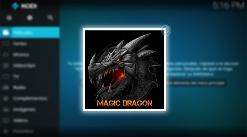 the magic dragon en kodi