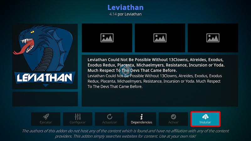 addon leviathan en kodi
