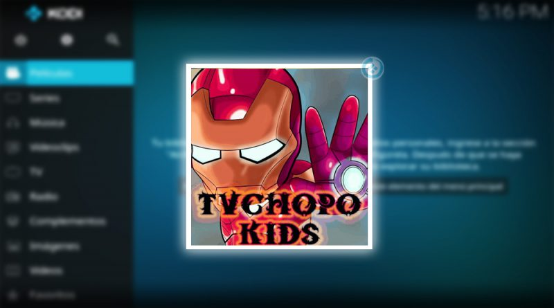 tv chopo kids en kodi