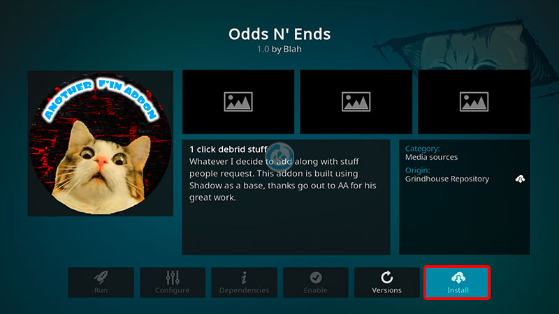 odds n ends en kodi