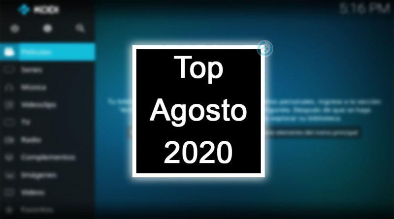 addons de kodi agosto 2020