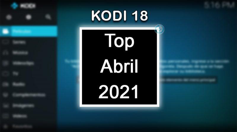 addons de kodi abril 2021