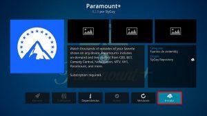 addon paramount+ en kodi