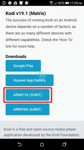 instalar kodi en android
