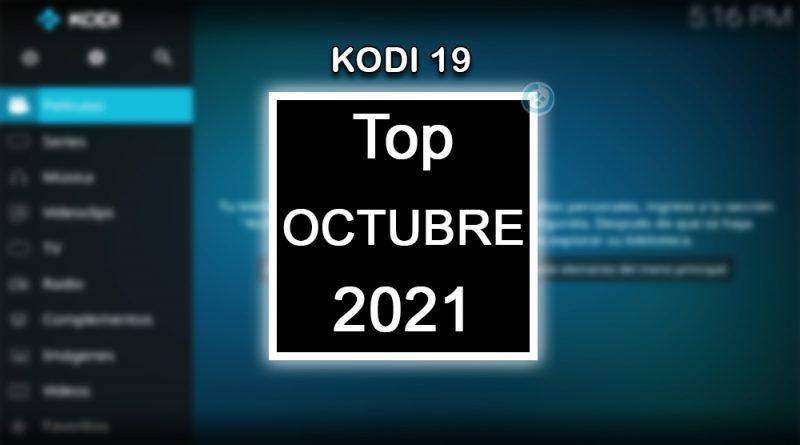 addons de kodi 19 octubre 2021
